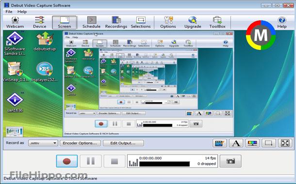 [تحميل] برنامج Debut Video Capture 1.74 Beta للتسجيل من شاشة الكمبيوتر بمميزات رائعة