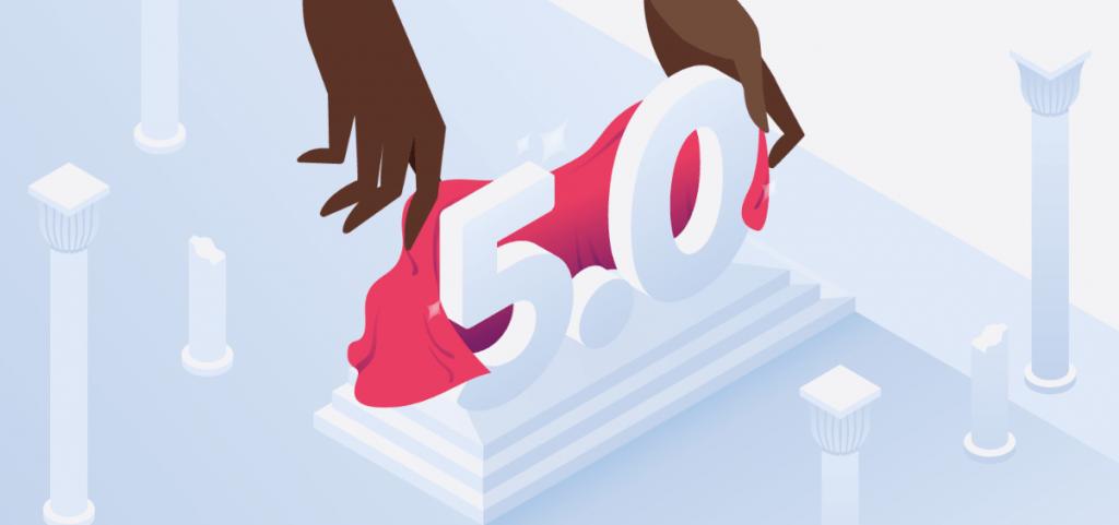 إطلاق أصدار ووردبريس 5.0 الخاص باداره المحتوى