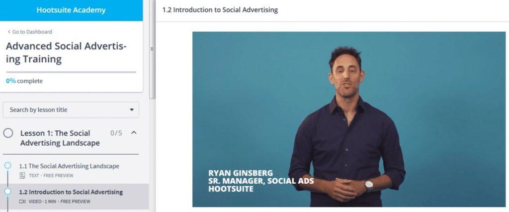 التدريب المتقدم على إدارة إعلانات وسائل التواصل الاجتماعي