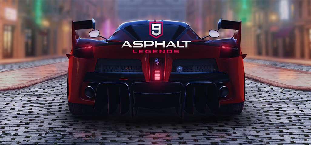 تحميل لعبة اسفلت 9 الأسطورة  Asphalt 9 Legends للاندرويد لعشاق ألعاب السيارات