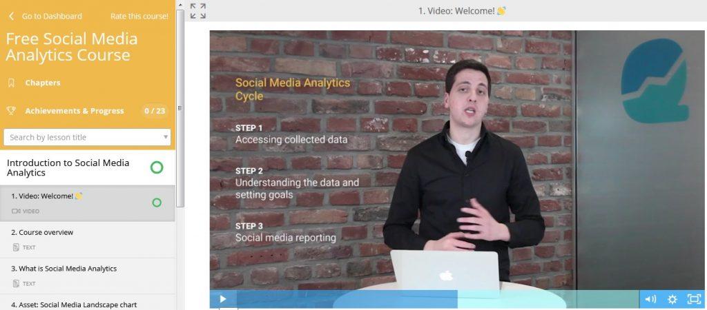 تحليلات وسائل التواصل الاجتماعي Social Media Analytics