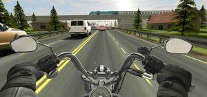لعبة الدراجات النارية والمتوسيكلات Traffic Rider v1.5 كاملة ومهكرة