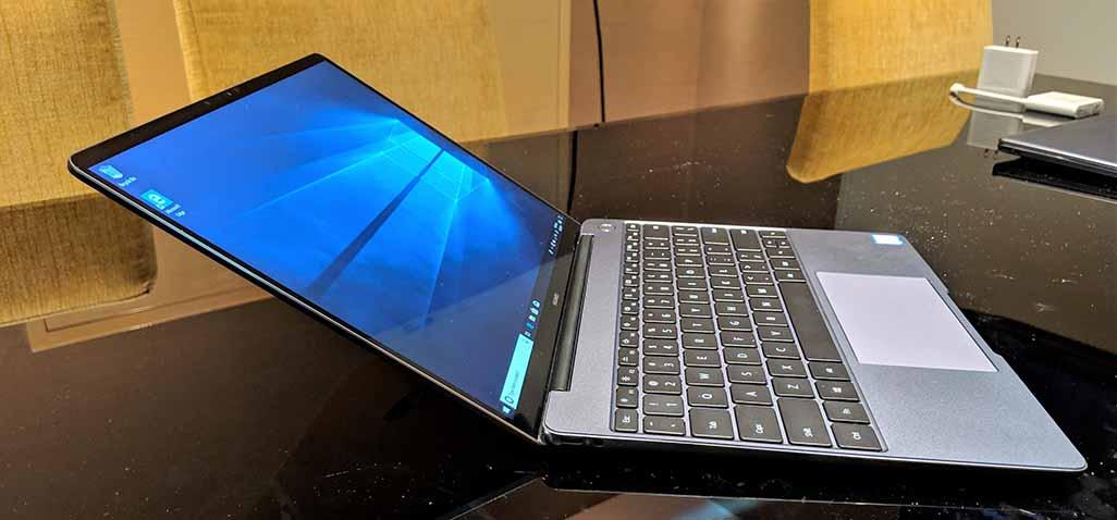 شركة هواوي العملاق الصيني تكشف النقاب عن جهاز MateBook 13