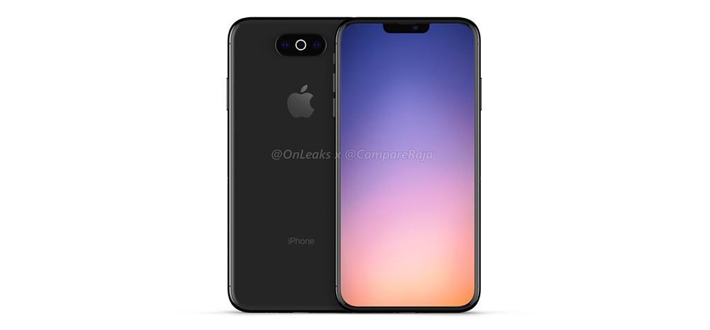 تسريب تصميم يقال انه نموذج لهاتف iPhone XI المقبل