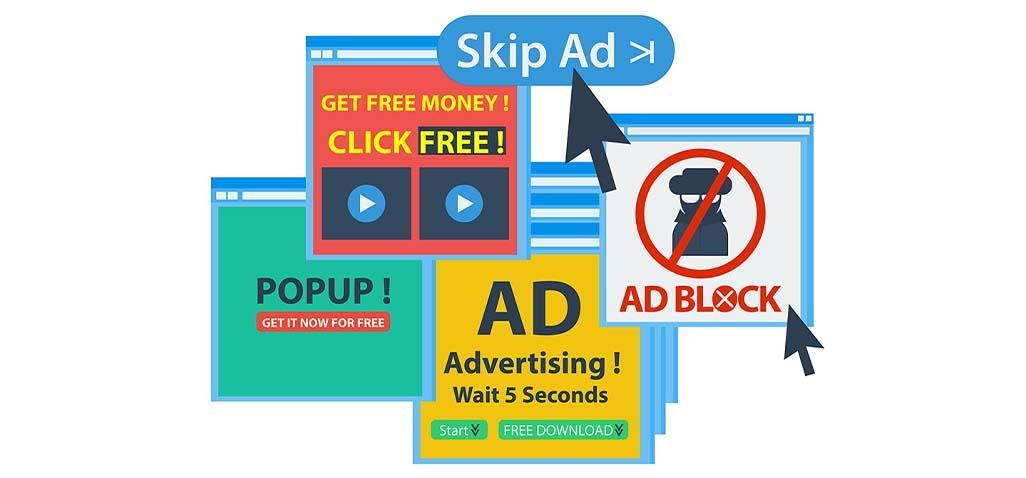 لتصفح أفضل وحظر الإعلانات والنوافذ المنبثقة والحماية من المواقع الضارة