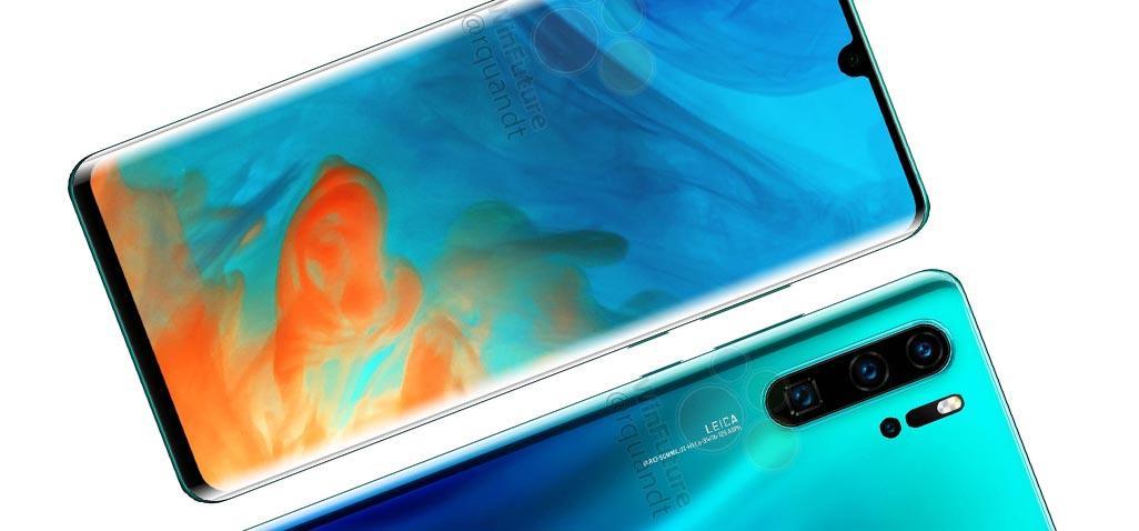 صور مسربة تكشف عن هاتف P30 Pro مزود بـ 4 كاميرات بالخلف