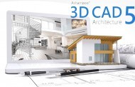 البرنامج المعماري الرائع وعملاق التصميمات المعمارية Ashampoo 3D CAD Architecture 5