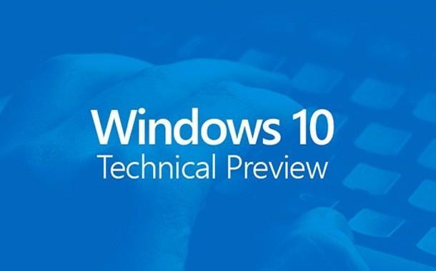 التحديث الجديد لويندوز 10 Windows 10 Build 9879 Enterprise Technical Preview