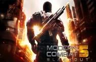 اللعبة الحربية الرائعة Modern Combat 5: Blackout v1.1.0k